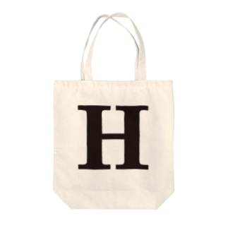 alphabet-simple:serif-H Tote bags