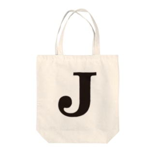 alphabet-simple:serif-J Tote bags