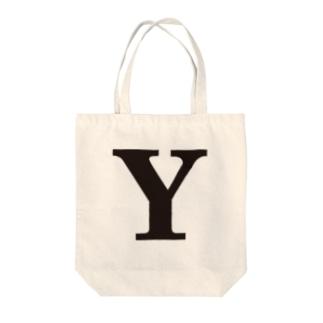 alphabet-simple:serif-Y Tote bags
