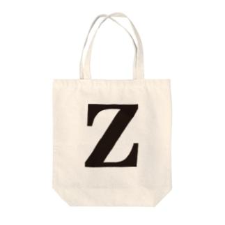 alphabet-simple:serif-Z Tote bags