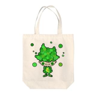 もじゃ村の住人 Tote bags