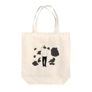 シャイboy Tote bags