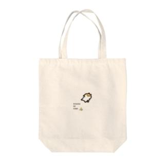 BANANA NO KAWA で滑った猫 Tote bags
