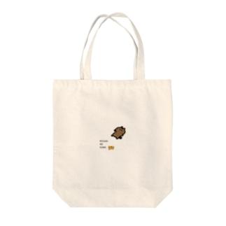 MIKAN NO KAWA で滑った猫 Tote bags