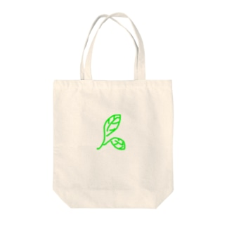 ピース オブ リーフ Tote bags