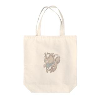 クロスカンク Tote bags