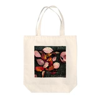 落葉 Tote bags