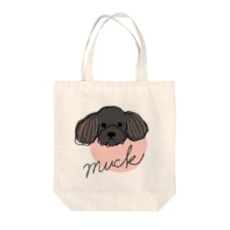 ムックくん(ピンク) Tote bags