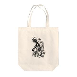 祈る女神兵器 Tote bags