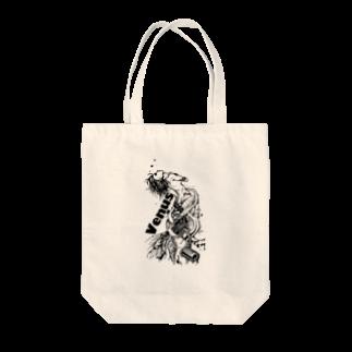 Jackpool の祈る女神兵器 Tote bags