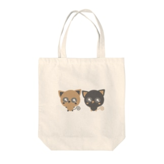 Baby-nuco仲良しツートン Tote bags