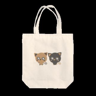 ZooBeeFooのBaby-nuco仲良しツートン Tote bags