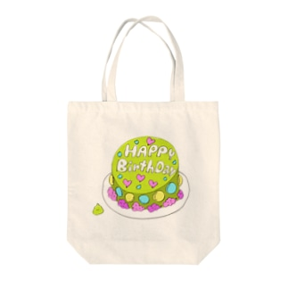 まっちゃケーキ Tote bags