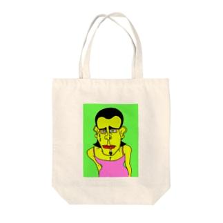汗ダクダクのゲイ SHOTA SAEKI Tote bags