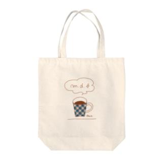 チェックマグ Tote bags
