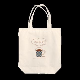 マーケットデザインワーク ビイトのチェックマグ Tote bags