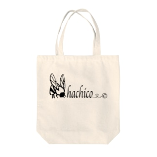 HACHICOミツバチ Tote bags