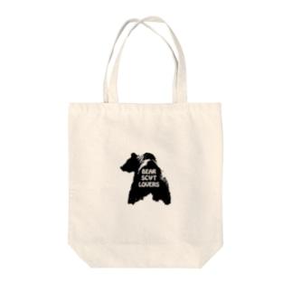 """""""Linda"""" for Bear Scat Lovers Tote bags"""
