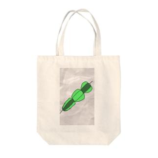 ピーマンの串刺し Tote bags