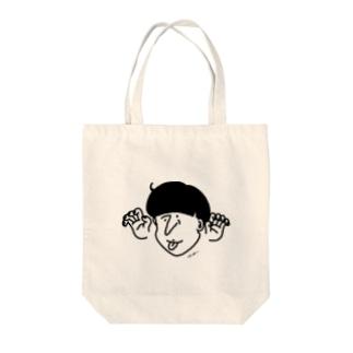 べろべろばー Tote bags