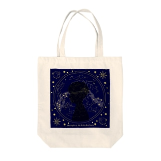 The Night of the Milky Way Train Tote bags