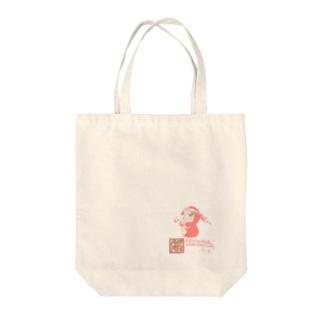 ガッツポーズ Tote bags
