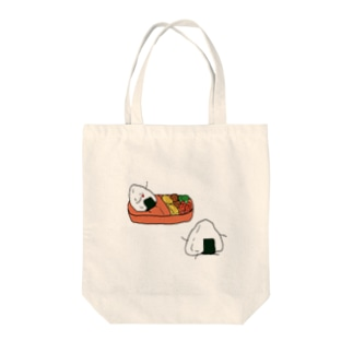 お弁当 Tote bags