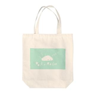 kurage1(light blue) Tote bags