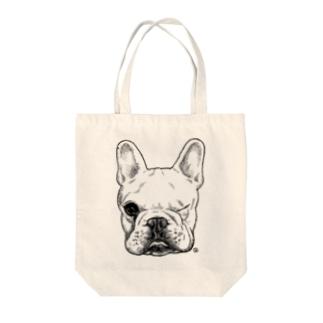 ピートの肖像 Tote bags