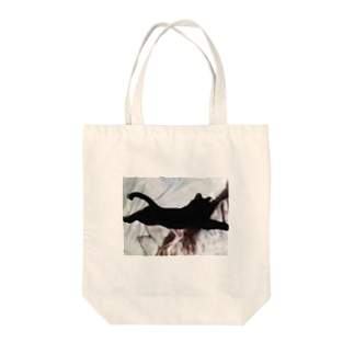 スーパーニャン Tote bags