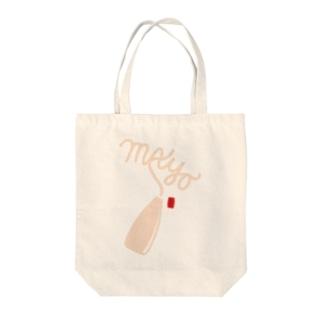 マヨネーズ Tote bags