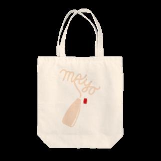 フォーヴァのマヨネーズ Tote bags