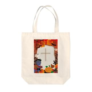クレコちゃんのフランケンシュタインハロウィン Tote bags