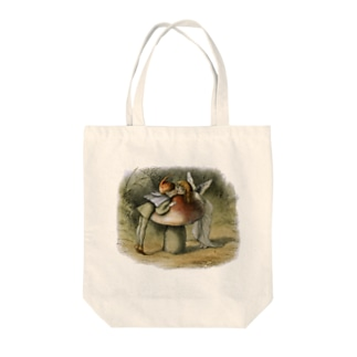 The British Library - An elf and a fairy kissing Tote bags