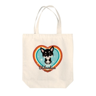 FOXY COLORSのチワワ ブラックタン Tote Bag