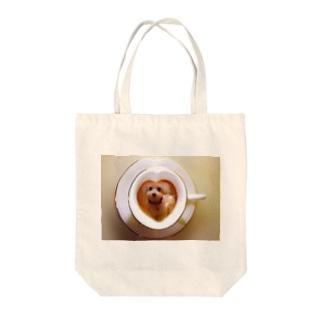 マルチーズdeコーヒーブレイク Tote bags