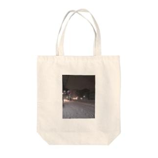 2013の大雪 Tote bags