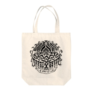 Peace Of Cake Tote bags