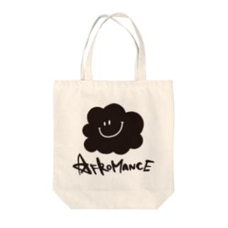 アフロマンス・ロゴ Tote bags