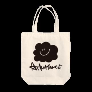 AFROMANCEのアフロマンス・ロゴ トートバッグ