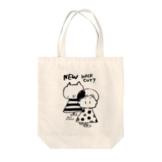 びようしさん(白黒) トートバッグ