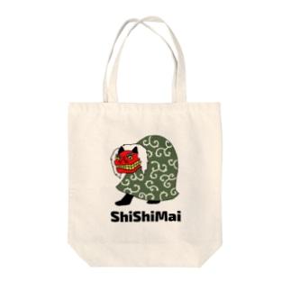 ShiShiMai (獅子舞) Tote bags