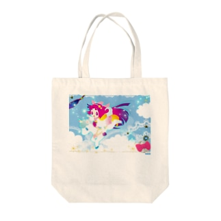 reach for the ster Tote bags