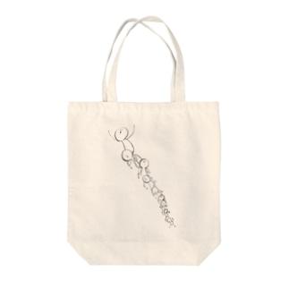 まめちゃん(トーテムポール) Tote bags