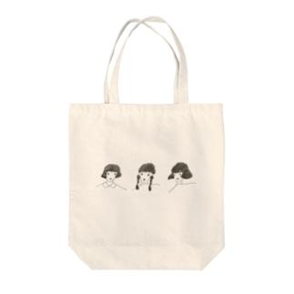 girl ず Tote bags