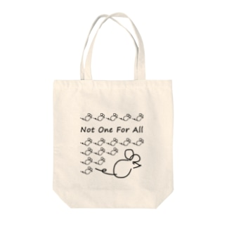 Not One For All Tote bags