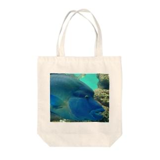 Fish! Tote bags