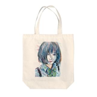 青い風 Tote bags