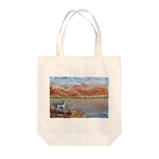High SIerra in Fantasy Tote bags