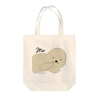 ラッコの「らー」me! Tote bags